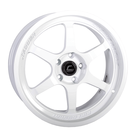 Cosmis Racing XT-006R White Wheel 18X9 5X114.3 +30MM Offset