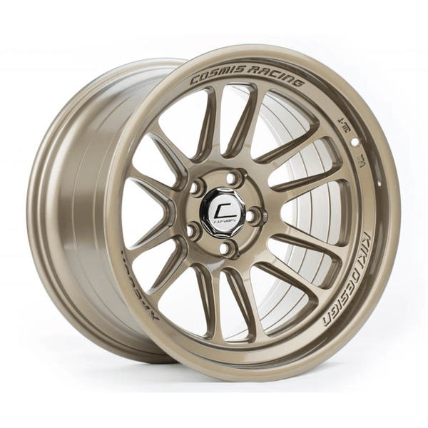 Cosmis Racing XT-206R Bronze Wheel 18X11 5X114.3 +8MM Offset