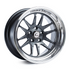 Cosmis Racing XT-206R Gun Metal with Machined Lip Wheel 18X11 5X114.3 +8MM Offset