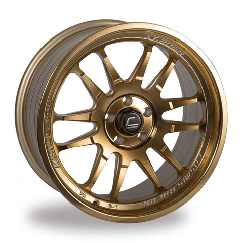 Cosmis Racing XT-206R Hyper Bronze Wheel 17X8 5X100 +30MM Offset