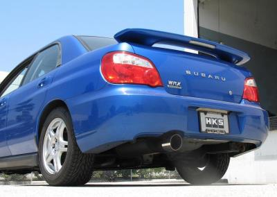HKS Sport Cat-Back Exhaust For 2002-2007 WRX/STI