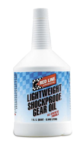 Red Line LightWeight ShockProof Gear Oil 1QT