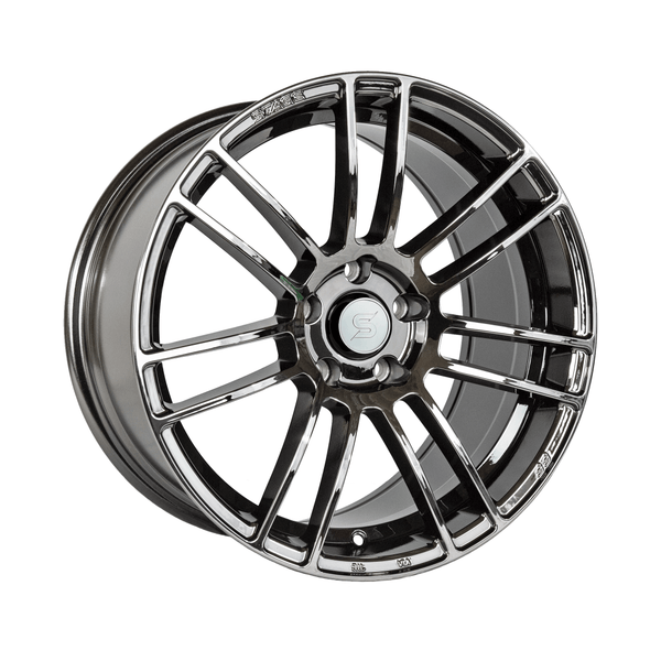 Stage Wheels Belmont 18x8.5 +38mm 5x100 CB 73.1 Black Chrome