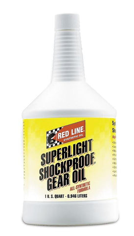 Red Line Super LightWeight ShockProof Gear Oil 1QT