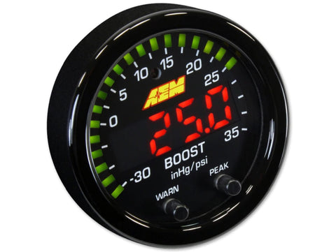 AEM X-Series Boost Gauge 52mm