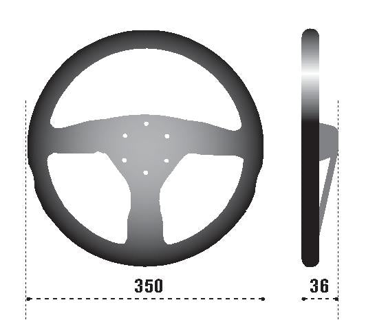 SPARCO Competition R 375 Steering Wheel