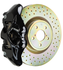 Brembo GT Systems Monobloc 4 Piston 326mm Cross Drilled (Black) For 2015+ WRX