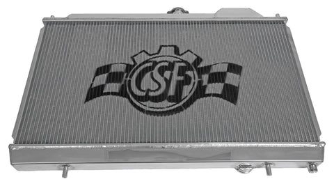 CSF Racing Radiator w/12in SPAL Fan and Shroud for 2003-2006 Evo 8/9