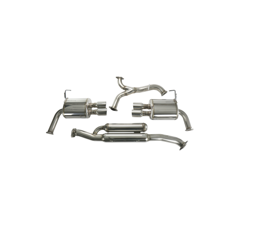 HKS Legamax Cat-Back Exhaust System for 2015+ WRX/STI