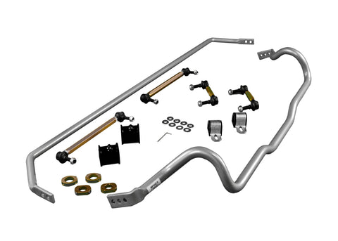 Whiteline Front and Rear Sway Bar Kit w/ Endlinks For 2016+ Focus RS