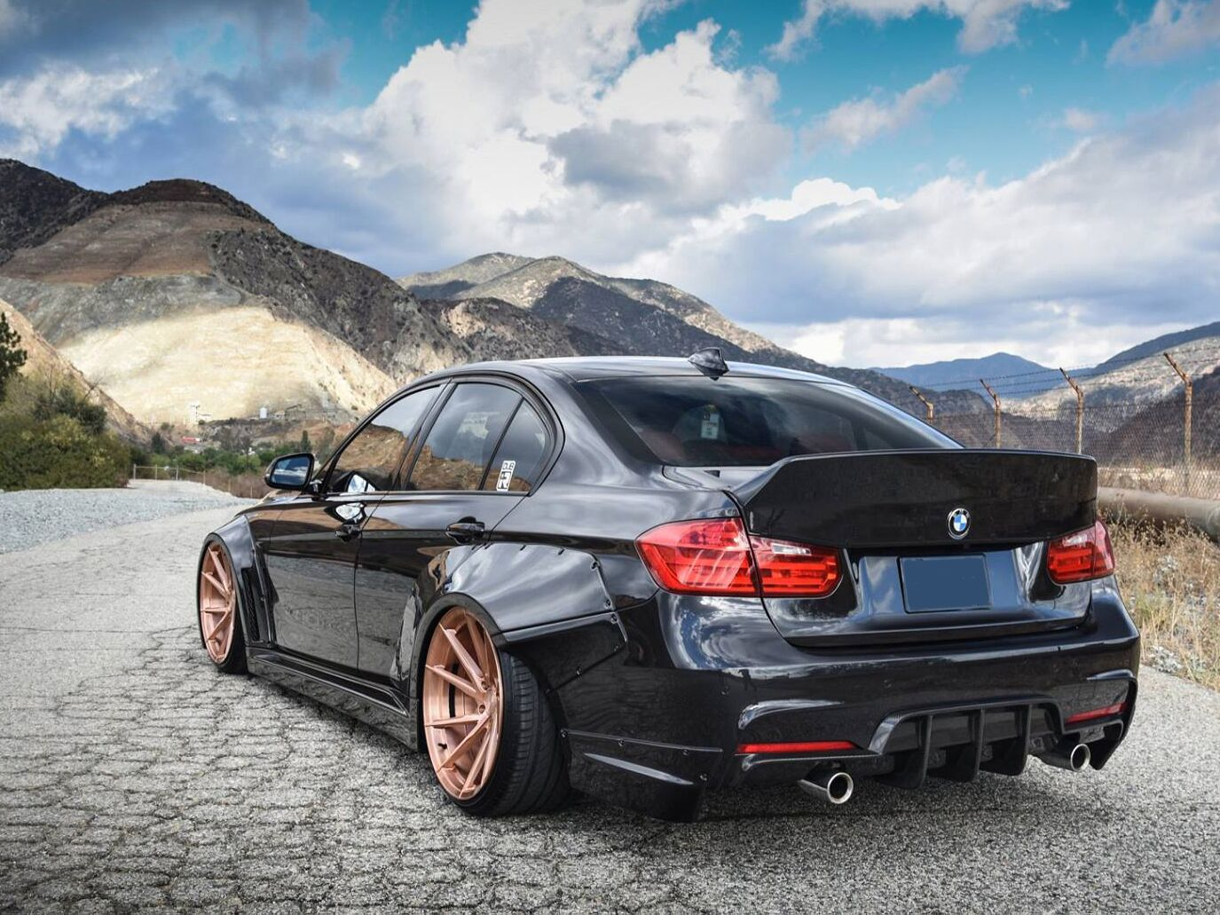 Clinched Flares Ducktail Spoiler For Bmw 3 Series F30 Built Not Bought Automotive