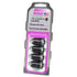 McGard SplineDrive Lug Nuts Black M12x1.25 (Pack of 4)