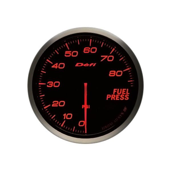 Defi DF10304 Gauge Imperial Advance Bf Amber 60Mm Fuel Pressure