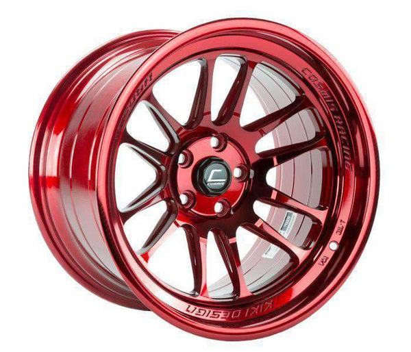 Cosmis Racing XT-206R Hyper Red Wheel 17X9 5X114.3 +5MM Offset