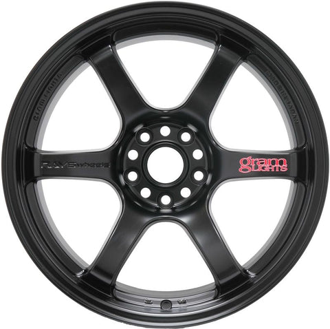 Rays Gram Lights 57DR 17X9.0 (+22) 5x114.3 Semi-Gloss Black