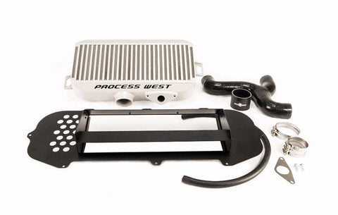 Process West Top Mount Intercooler w/ Shroud Kit For 2004-2005 STI