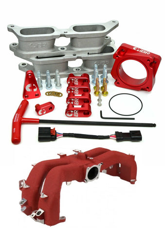 IBR Bolt-On BRZ Manifold Kit (Red) w/ Intake Manifold for 2015+ WRX