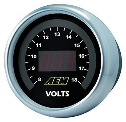 AEM Volt Gauge Digital 52mm