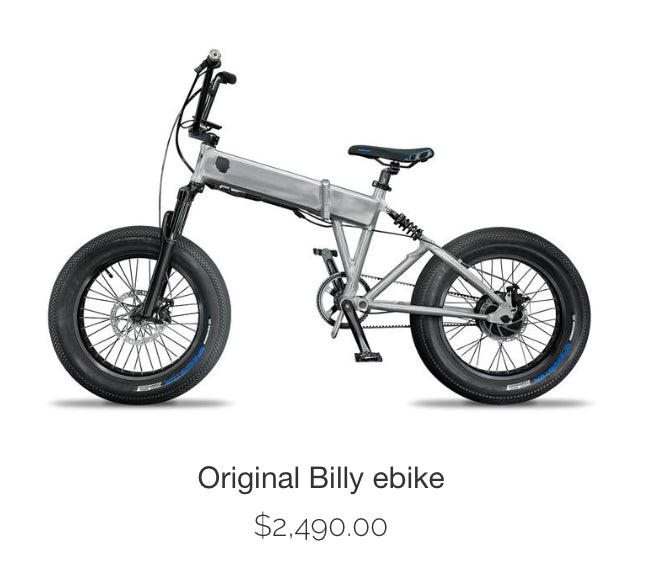Billy BMX electric bike
