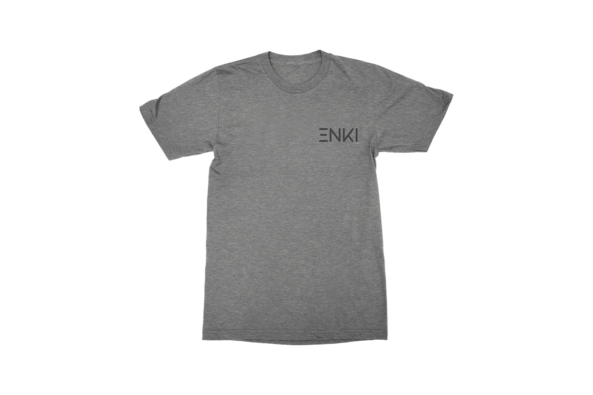Mens Enki Crew T-shirt - Heather