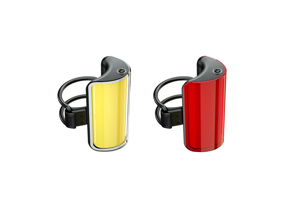 Knog Mid Cobber Twinpack | Front + Rear Bike Lights
