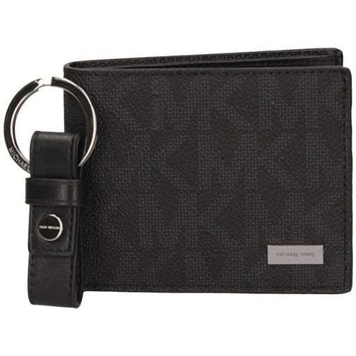 Michael Kors Michael Kors Jet Set Mens Billfold with key chin Wallet (Black) 36t7lgff5b