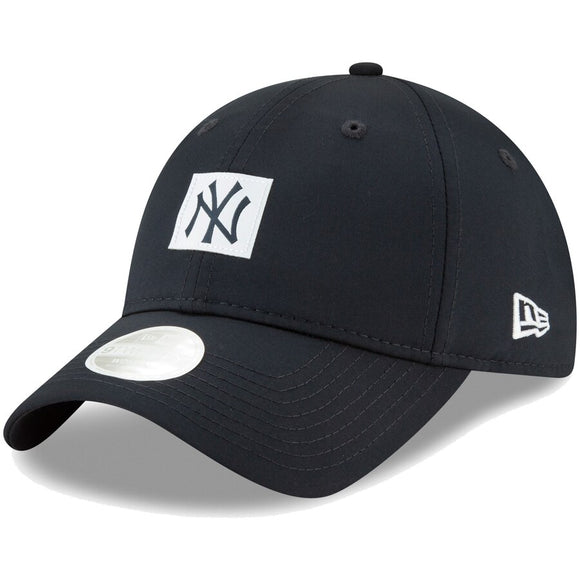 Women's New York Yankees New Era Navy Sleekest Fan 9TWENTY Adjustable Hat