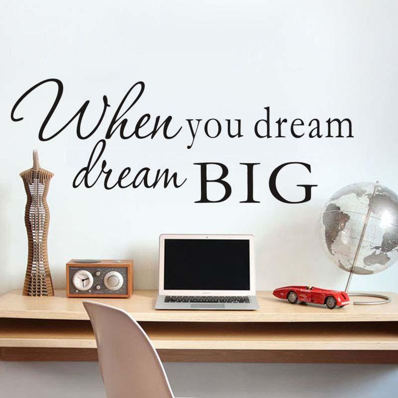 When You Dream Wall Stickers  sc 1 st  Uplifting Motivations & When You Dream Wall Stickers u2013 Uplifting Motivations