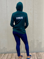 Load image into Gallery viewer, Green Focus Hoodie