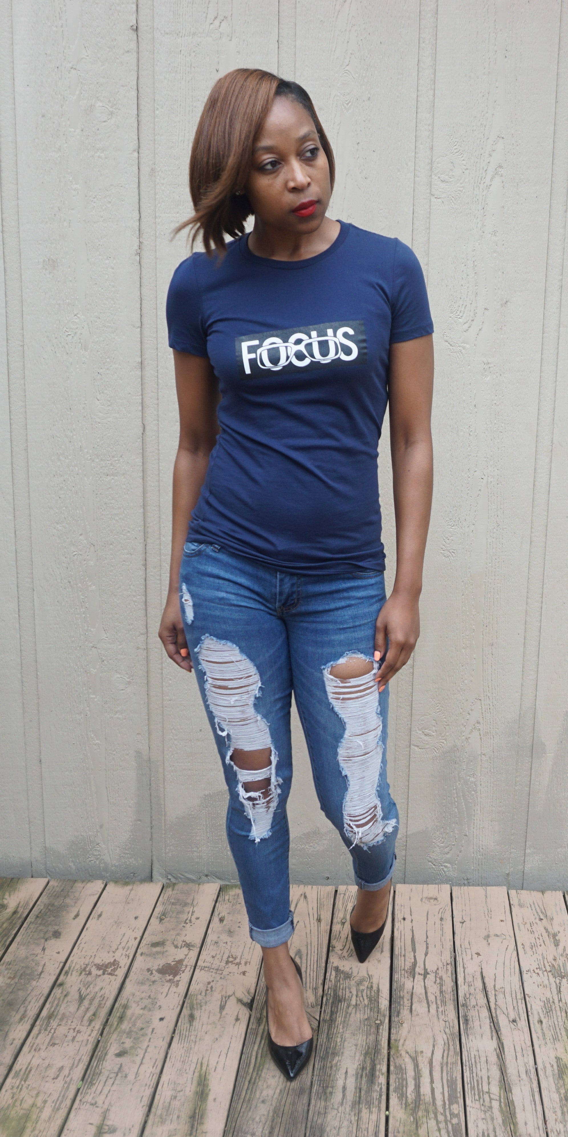 Fitted Focus Tee