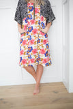 Olivia Floral Zippered Dress