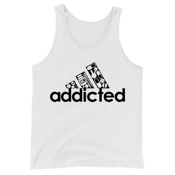 Addicted Unisex Tank - More Colors Available