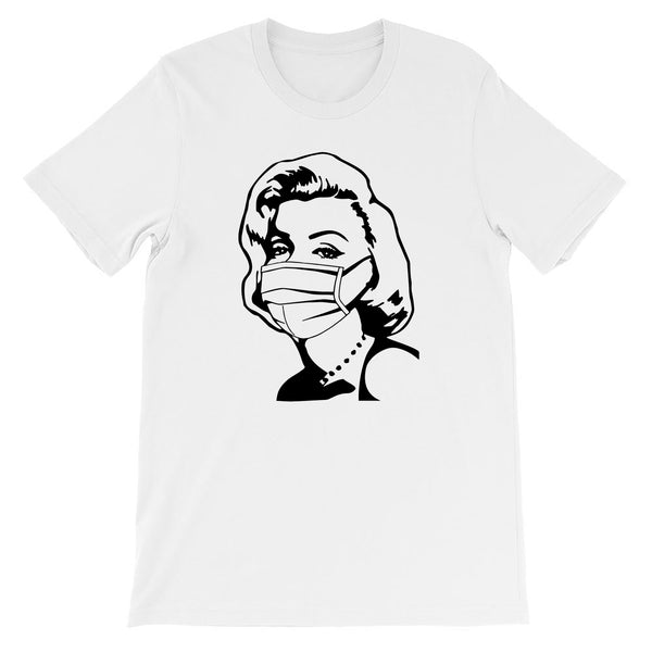 Masked Bombshell Tee - More Colors Available