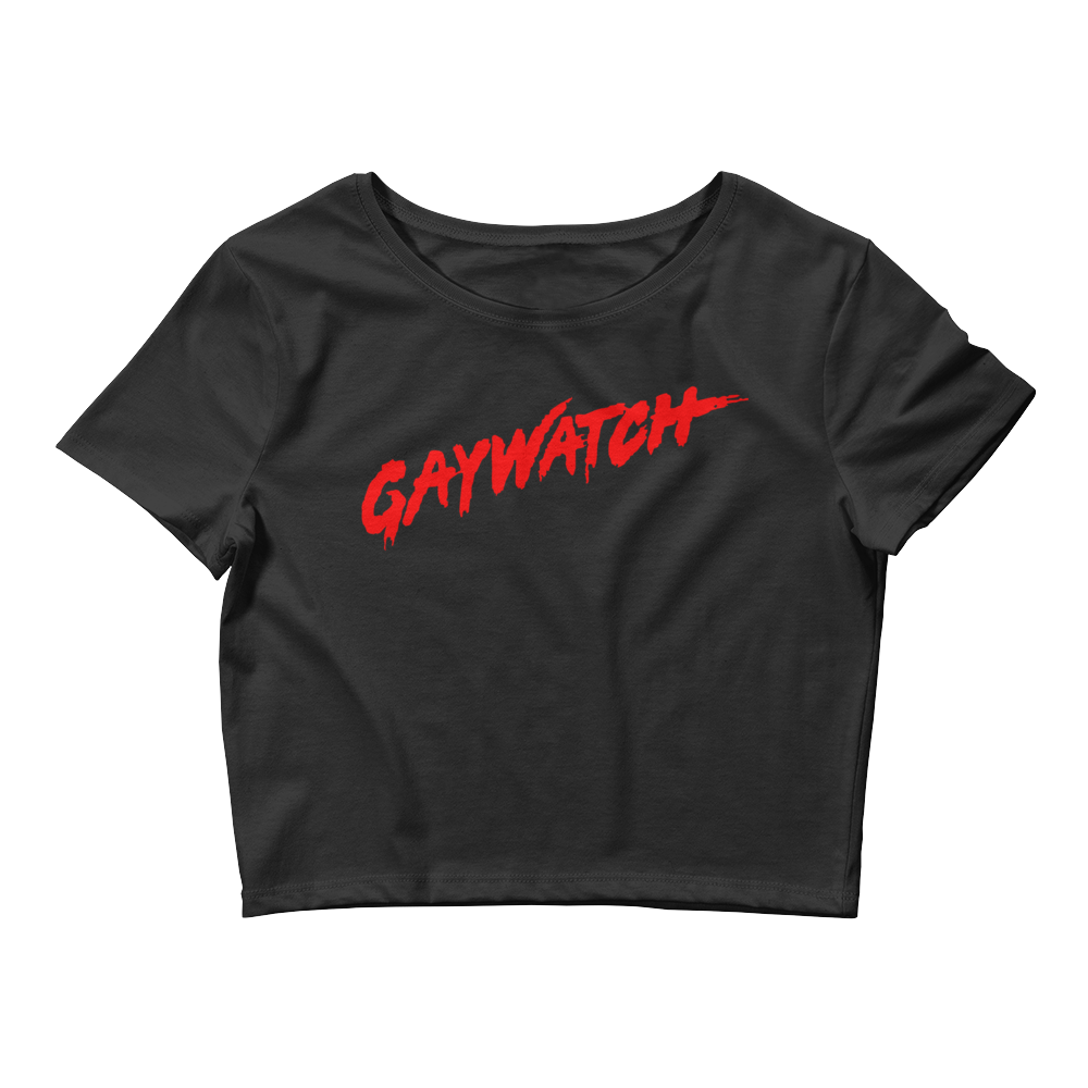 Gaywatch Crop Unisex - More Colors Available