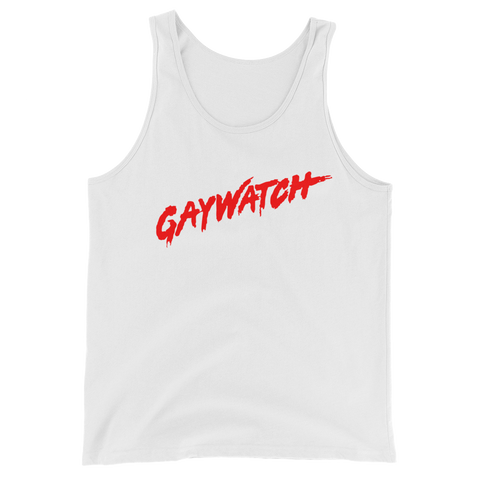 Gaywatch Tank Unisex - More Colors Available