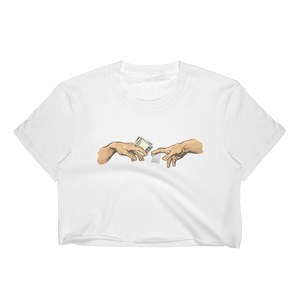 Sistine Chapel Crop Unisex - More Colors Available