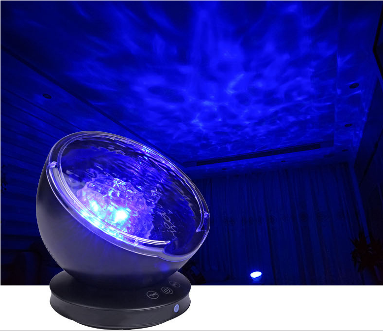 Tranquil Ocean Wave Projector Lamp