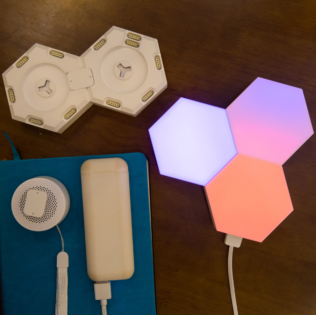 SMART Touch Enabled App Controlled Multi-color Quantum Lamp