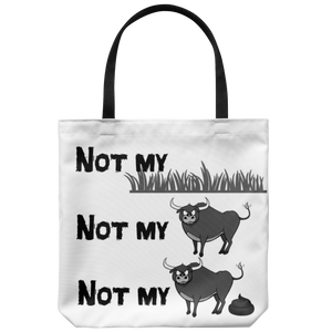 Not my pasture - Tote bag