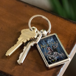 The Arrival Book Cover - Keychain