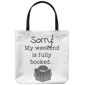 My weekend is booked - Tote bag