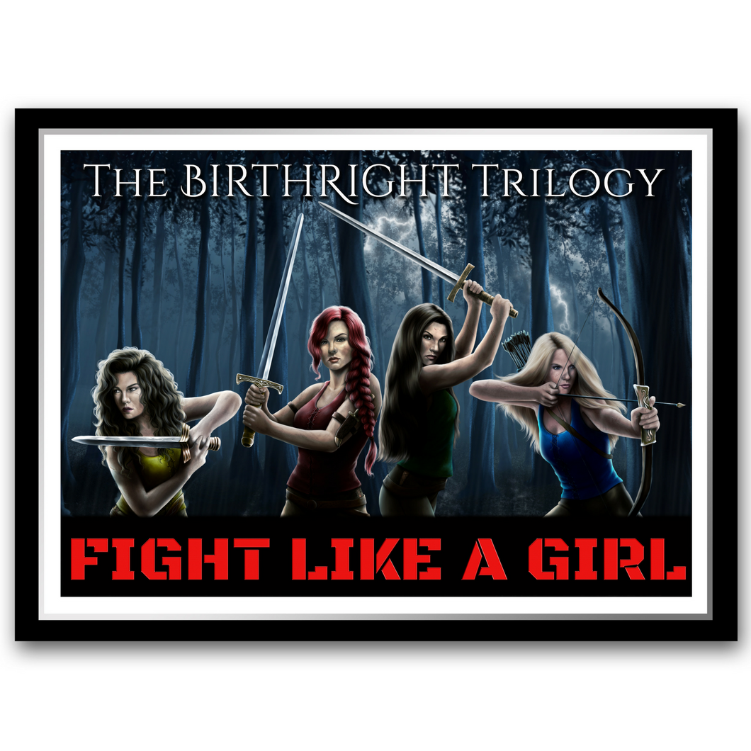 Fight like a Girl - FREE Printable - Use code FREEBIE at the checkout