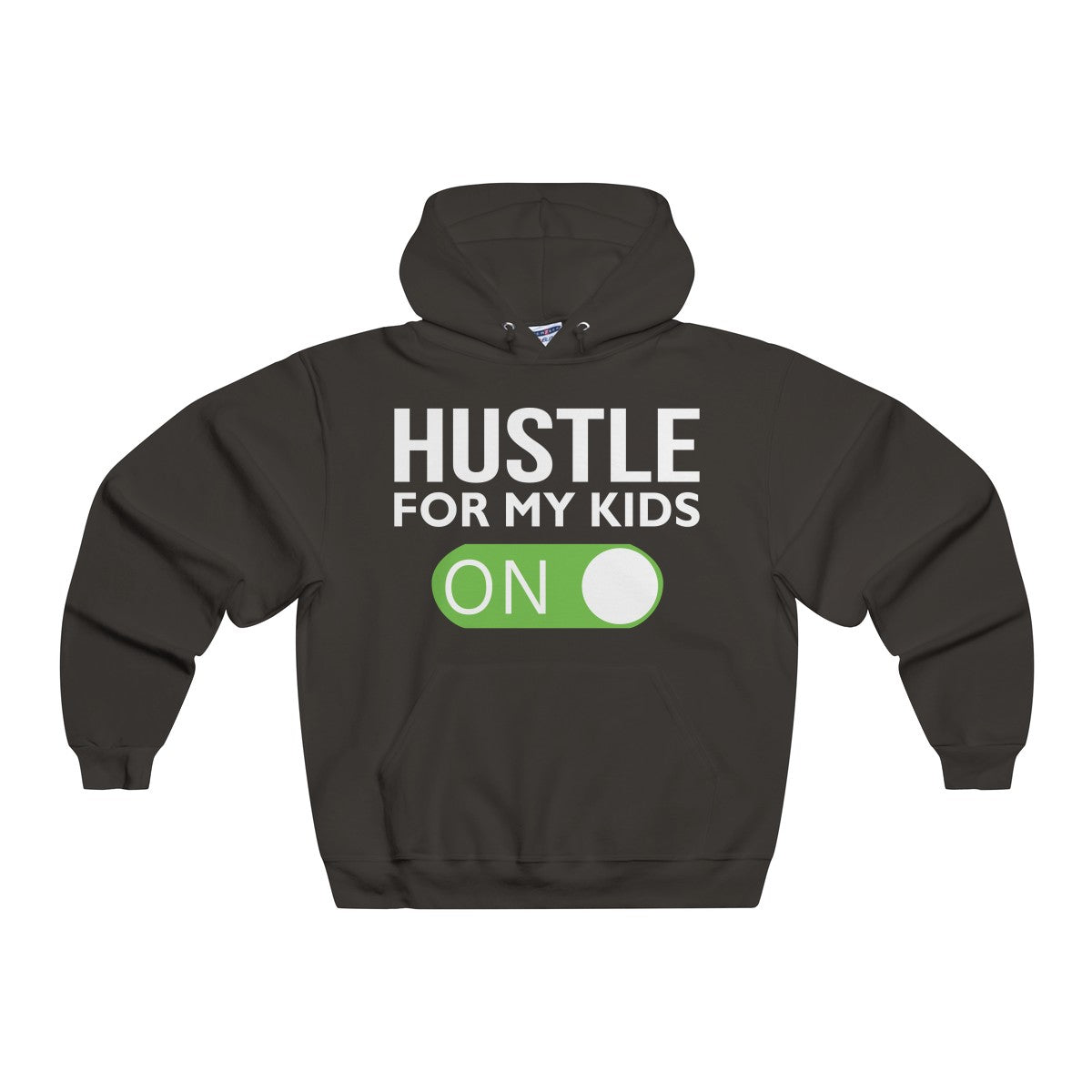 d6a7c95ed Hustle Mode On NUBLEND® Hooded Sweatshirt - Hustle For My Kids