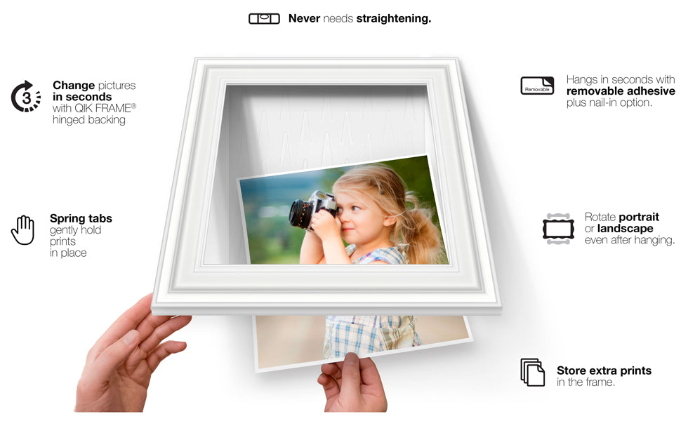 QIK FRAME™ - The Quick-Change Picture Frame