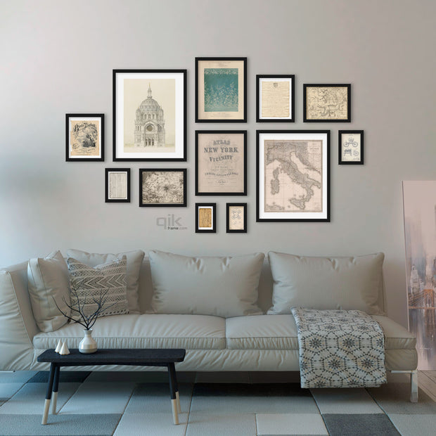 12pc Gallery Wall Set - Q20 Matrix