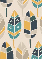 Autumn Scandi Style - 5pc Double-Sided Art Print Set