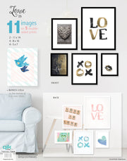 Love Is - 5pc Double-Sided Art Print Set
