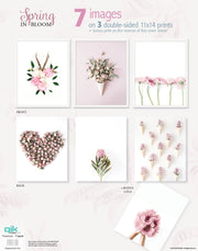 Spring in Bloom - 3pc Double-Sided Art Print Set
