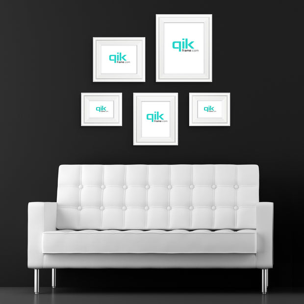 5pc Gallery Wall Set - Q53 Century - White
