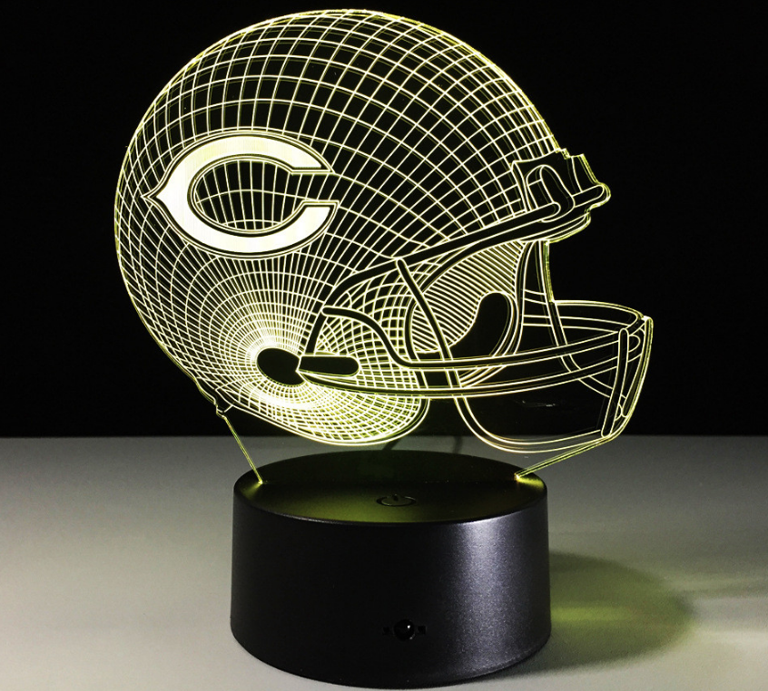 Sports 3D Lamp Light - Lite Beast